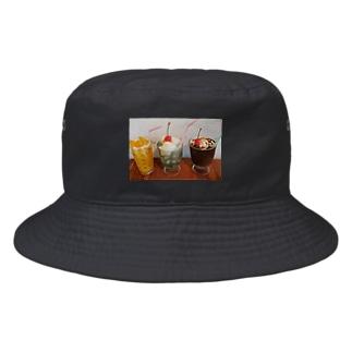 ふゆちぇりーおうち喫茶店 Bucket Hat