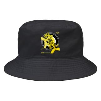 YOU PERV 006 レトロポップ 学園 クラッシュレモンゼリースカッシュ Bucket Hat