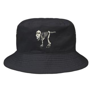 ゆるい骨ザウルス Bucket Hat