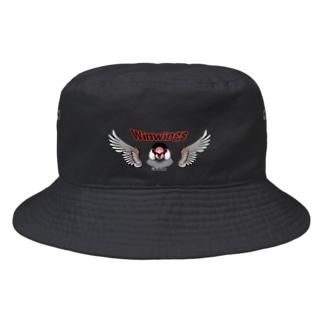 荒ぶる桜文鳥さん Bucket Hat