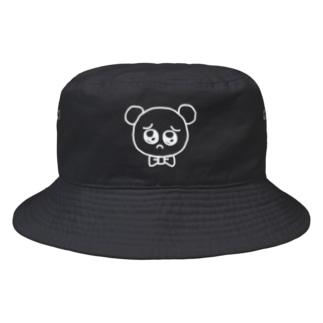ぴえんぐま WHT Bucket Hat
