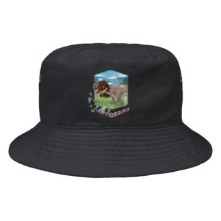 ティラノサウルス Bucket Hat