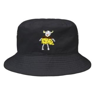 プリンから抜け出せない牛 Bucket Hat