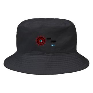 あらしまやメダカ公式BEAK SPIDER Bucket Hat
