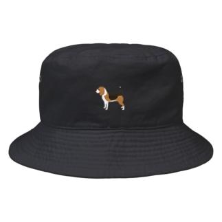 ビーグル Bucket Hat