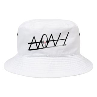 ノアさん公認デザインワンポイント Bucket Hat