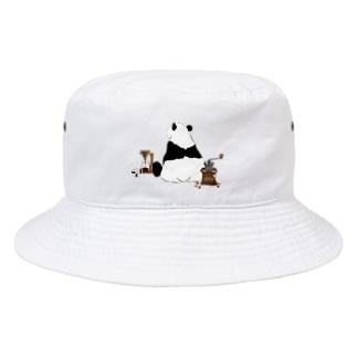 ドリップ待ちのパンダ🐼 Bucket Hat