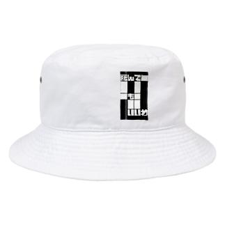 告白③ネガ Bucket Hat