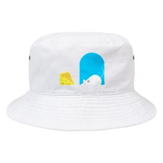 ねずみちゃんとチーズ(服) Bucket Hat