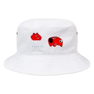 べっこのべこ Bucket Hat