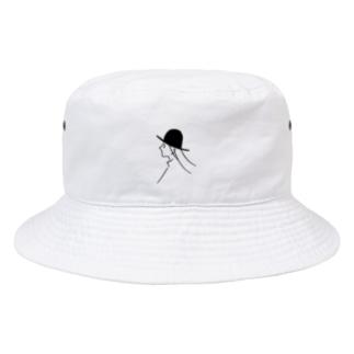 風と帽子のつくしちゃん Bucket Hat