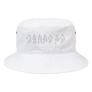 mksnのDRAW DNA Bucket Hat