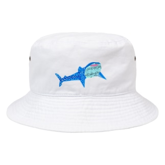 にっこりジンベイザメ Bucket Hat
