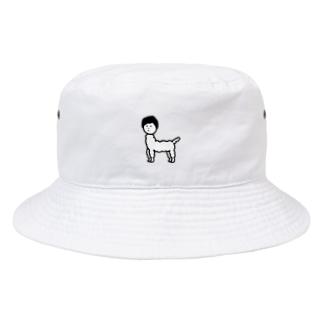 じんめんアルパカ Bucket Hat