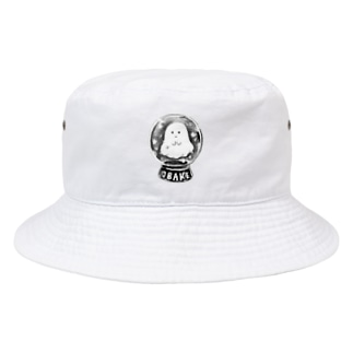 オバケちゃんのスノードーム Bucket Hat