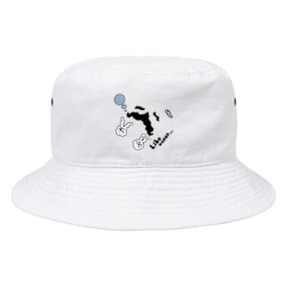gentleman cat like water - 2018 summer - Bucket Hat
