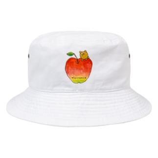 リンゴとウゲロくま Bucket Hat