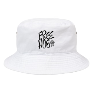 FREE HUG Bucket Hat