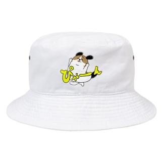 もじゃまるぴゃーん Bucket Hat