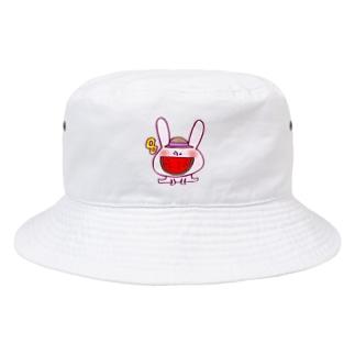 8月のうさぎ  Bucket Hat
