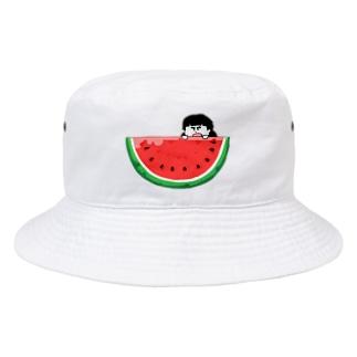 スイカ Bucket Hat