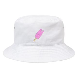 変形アイス うさぎ Bucket Hat