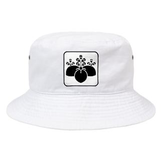 桔梗紋 Bucket Hat