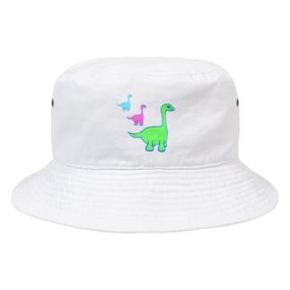 ネオンザウルス Bucket Hat