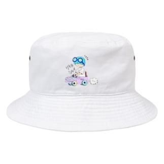 運転したい! Bucket Hat