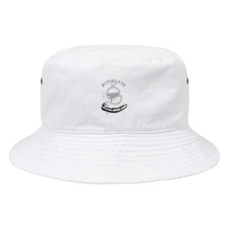 半分ビスケッツ Bucket Hat