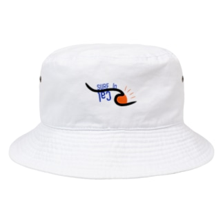 surf in cal Bucket Hat