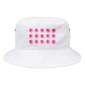 並びお花 Bucket Hat