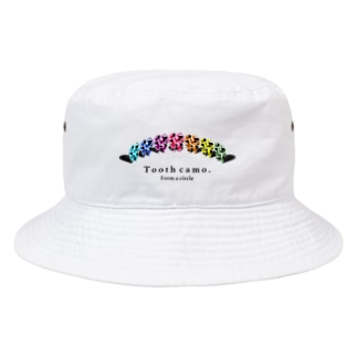 Tooth円陣 Bucket Hat