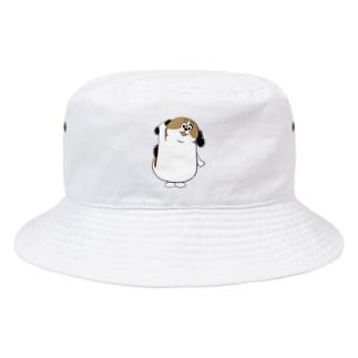 もじゃまるはーい! Bucket Hat