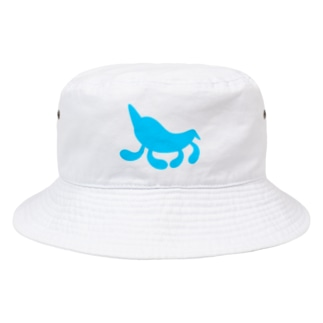 Moondrop Blue Bucket Hat