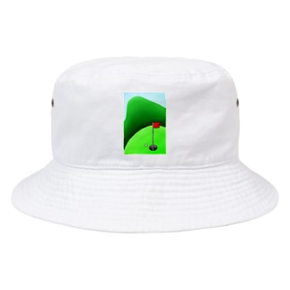 長くのびるゴルフ場 Bucket Hat