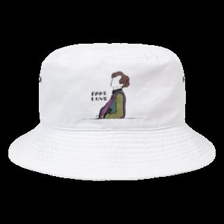 mksnのDRAW FAKE LOVE SUGA Bucket Hat