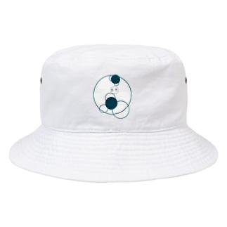 shirotaro-サークル- Bucket Hat