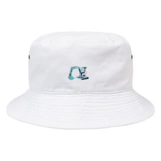 ミニユンボ Bucket Hat