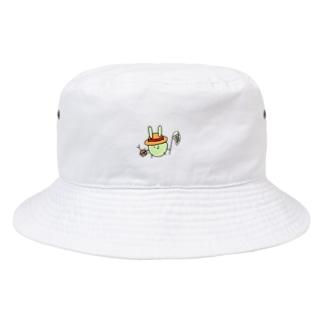 むしとりどこうさ Bucket Hat