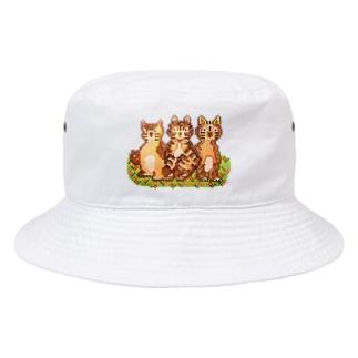 モザイクねこ Bucket Hat
