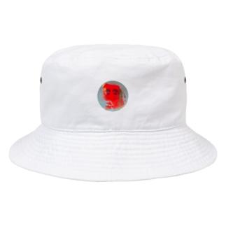 赤丸 Bucket Hat