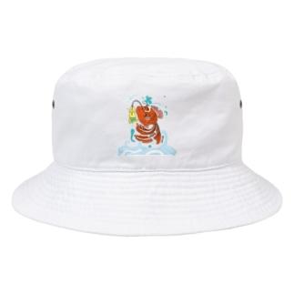 跳ね金魚 Bucket Hat