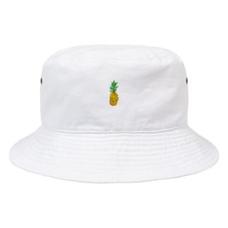 Yoshi のちびパイン Bucket Hat