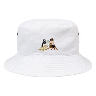 大きい犬たち Bucket Hat