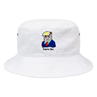トランプの大統領 Bucket Hat