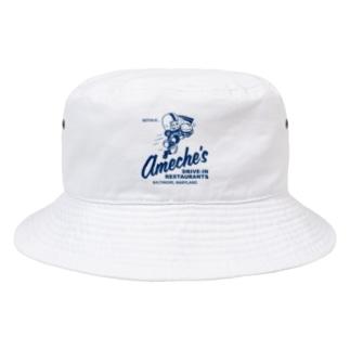 ameches_BLU  Bucket Hat