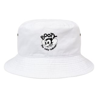 Booty the baby baboonのBOOTY SMILE Bucket Hat