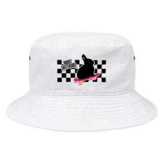 れなしやのラビットスケボー Bucket Hat