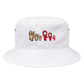ちくたらこ Bucket Hat